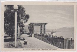 Meina. Lungo Lago E Approdo Del Batello. - Novara