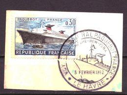 Frankrijk / France / Frankreich 1378 Used (1962) - Oblitérés