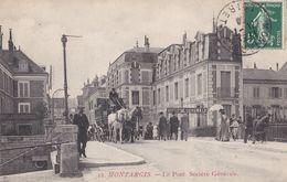 Montargis : Le Pont. Société Générale - Montargis