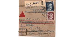 Colis Postal  / De Worms /  12-3-43 - Briefe U. Dokumente