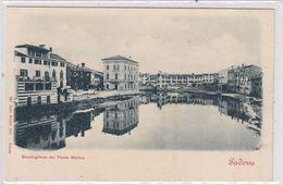 Padova. Bacchiglione Del Ponte Molino. - Padova