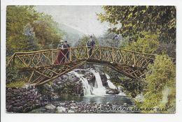 GLENGARIFF GLENN - Rustic Bridge And Waterfall - Hartmann 4095/1 - Cork