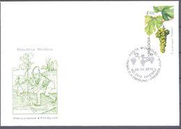 2010. Moldova, Grape, Fdc,  Mint/** - Moldavia
