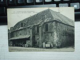 Cpa Saint-Valéry-sur-Somme Ancien Grenier à Sel (XIII° Siècle) - Saint Valery Sur Somme