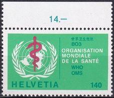 SCHWEIZ 1986 Mi-Nr. WHO 40 ** MNH - Dienstzegels