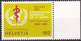 SCHWEIZ 1995 Mi-Nr. WHO 41 ** MNH - Dienstpost