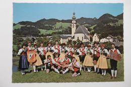 Gruppe Volksmusik - Trachtenverein D'REITHERKOGLER A-6235 REITH IM ALPBACHTAL - AUTRICHE TIROL TYROL - Personnages