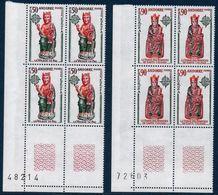 AND 1974  Série Europa   N°YT 237-238   ** MNH Bloc De 4 Coin De Feuille - Europa-CEPT