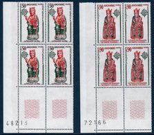 AND 1974  Série Europa   N°YT 237-238   ** MNH Bloc De 4 Coin De Feuille - Nuevos