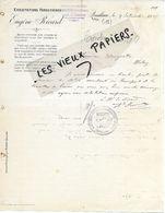 11 - Aude - QUILLAN - Facture RICARD - Exploitations Forestières - 1905 - REF 158B - 1900 – 1949