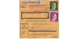 Colis Postal  / De Luxemburg / 4-6-43 - Briefe U. Dokumente