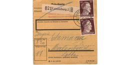 Colis Postal  / De Luxemburg / 19-2-43 - Briefe U. Dokumente