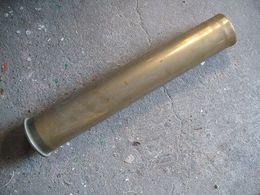 Douille D' Obus Allemand 7,5  Cm 1941 PAK. WW2 - Armi Da Collezione