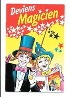 KB1785 - LIVRET VACHE QUI RIT - DEVIENS MAGICIEN - Trade Cards