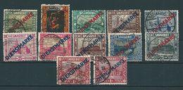 Saar MiNr. D 1-11 I/II   (sab15) - 1920-35 Saargebiet – Abstimmungsgebiet