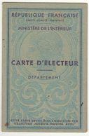 Landes, Castelnau Chalosse, Carte D'électeur - Historische Dokumente