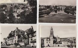 20 / 7 / 83  -  PERIGUEUX ( 24 ) LOT DE 11  CPSM - Toutes Scanes - Cartes Postales