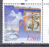 2010. Moldova, New Year & Christmas,  1v, Mint/** - Moldavia