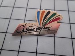 316c Pin's Pins / Beau Et Rare / THEME : VILLES / Il Fait Un Effet Boeuf ! CHATEAU DES VAUX - Steden