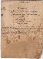 XVIIè Siècle : Sermon, 16 Page,  Prêché De 1663 à 1670 (Olliolles, Marseille..) (5 Scans) - Documents Historiques