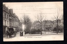 Fougères (35 I.-&-V.) 68 - La Place D'Armes - Collection G. B. - Attelage - Fougeres