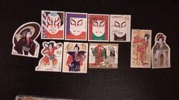Japon 2018 8693 8702 Culture Traditionnelle Japonaise Théâtre Kabuki  Photo Non Contectuelle - 1989-... Emperor Akihito (Heisei Era)