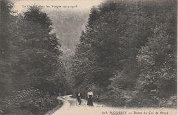 88 - MOUSSEY - Route Du Col De Prayé - Moussey