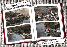 Souvenir De ... AIGUEBELETTE-le-LAC - Le Lac Et La Chaîne De L'Epine - Le Village - La Plage - Le Port - Livre Ouvert - Francia