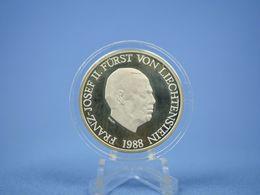 LIECHTENSTEIN 10 FRANCOS 1988 - Liechtenstein