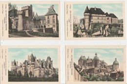 20 / 7 / 84 -CHÂTEAUX DE DORDOGNE )LOT Collection  Solution  PAUTAUBERGE - Toutes Scanées - Cartes Postales