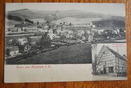 3019/ Gruss Aus Allenbach I.W./Gastwirtschaft Wilhem Kleb Jr - Birkenfeld (Nahe)