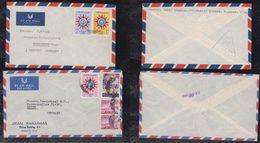 Irak Iraq 1959 2 Airmail Censor Cover To Germany + Austria - Iraq