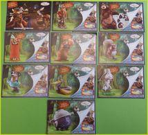 SERIE  KINDER BPZ COMPLETE LES REBELLES DE LA FORET GRECE 2006 TRES RARE COMPLETE - Notices