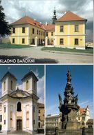 1 AK Tschechien * Ansichten Der Stadt Kladno (deutsch Kladen) - Das Schloss, Die Kirche St. Florian, Die Mariensäule * - Czech Republic