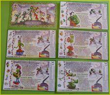 SERIE  KINDER BPZ COMPLETE LES SAUTERELLES FRANCE 2007 - Notices