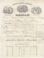 Genève, Manufacure De Cigares Osmond & Cie,1876 - Suisse
