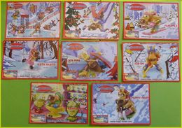 SERIE  KINDER BPZ COMPLETE SHOW ON ICE EUROPE DE L'OUEST 2006 - Notices
