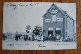 3022/ EMBLEHEM-Maison Des Bains-Badhuis 1905 - Ranst