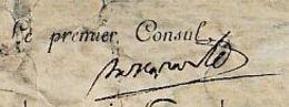 4 Nivôse An 8 (1799) Récompense Nationale : SABRE D'HONNEUR  - Signé BONAPARTE - Historische Dokumente