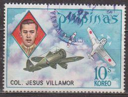 Pionnier De L'aviation - PHILIPPINES - Colonel Jésus Villamor - Avion - Combat Aérien - N° 916 - 1973 - Philippines