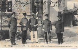 88   Gerardmer    Col De La Shucht      Gendarmes & Douaniers Allemands - Gerardmer
