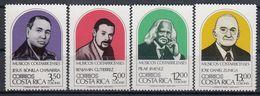 COSTA RICA 1222-1225,unused,music - Costa Rica