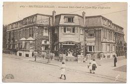 CPA PK  BRUXELLES IXELLES  MONUMENT EDITH CAVELL ET L'ECOLE BELGE D'INFIRMIERES - België