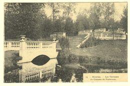 A1642[Postkaart] Nivelles. - Les Terrasses / Du Château De Fonteneau (Bertels) [jardin Pont Terrasse] - Nivelles