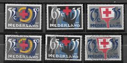 Nederland - 1987 - Yv. 1293 / 1295  - **  En O. - Rood Kruis - Periodo 1980 - ... (Beatrix)