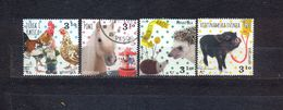 CROATIA - FAUNA - HOUSE ANIMALS - MI.NO.1448/51 - CV = 3,6 € - Kroatien