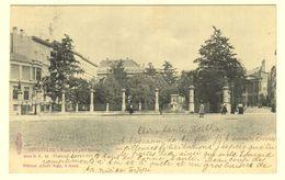 A1646[Postkaart] Bruxelles. - Place Du Petit Sablon (Albert Sugg, Excelsior) [Brussel Kleine Zavel] - Marktpleinen, Pleinen