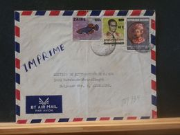 88/739 LETTRE ZAIRE  VENTE RAPIDE A 1 EURO - Zaire