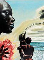 Afrique Pochette Disque Trompettiste MILES DAVIS Album Cover Art Bitches Brew American Jazz Trumpeter Africa - Singers & Musicians
