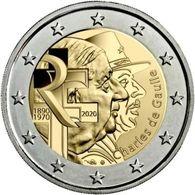 FRANCIA - 2 Euro 2020 - Charles De Gaulle - UNC - Francia
